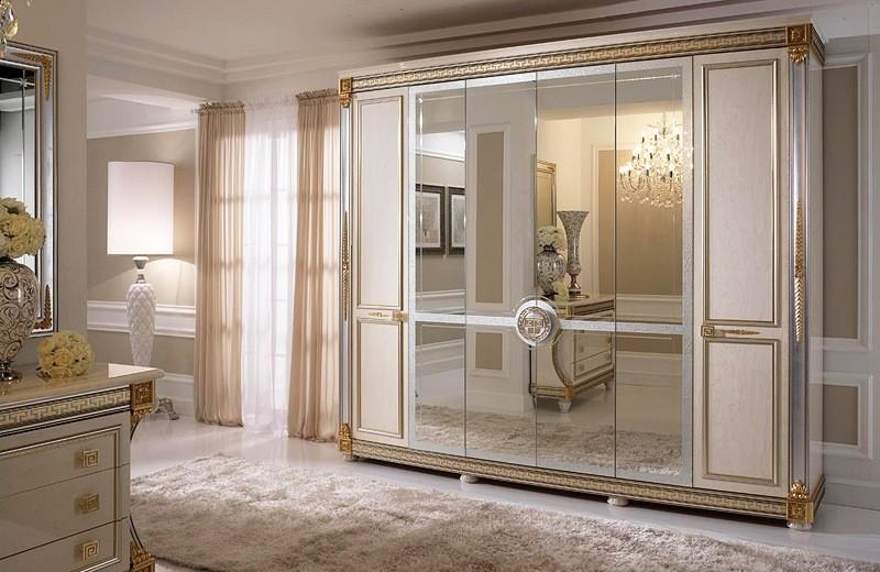 Klasik Yatak Odasında Gardırop Modelleri
